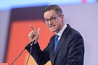 22 NOV 2019, LEIPZIG/GERMANY:<br /> Carsten Linnemann, MdB, CDU, Vorsitzender der Mittelstands- und Wirtschaftsunion der CDU/CSU und Stellvertretender Vorsitzender der CDU/CSU-Bundestagsfraktion. haelt eine Rede, CDU Bundesparteitag, CCL Leipzig<br /> IMAGE: 20191122-01-191<br /> KEYWORDS: Parteitag, party congress
