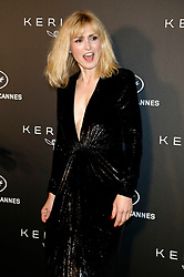 May 19, 2019 - Cannes, Alpes-Maritimes, Frankreich - Julie Gayet at the Kering and Cannes Film Festival Official Dinner during the 72nd Cannes Film Festival at Place de la Castre on May 19, 2019 in Cannes, France (Credit Image: © Future-Image via ZUMA Press)