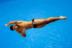 Giovanni Tocci of Italy in action during the Mens 1m Springboard Final - Photo mandatory by-line: Rogan Thomson/JMP - 07966 386802 - 19/08/2014 - SPORT - DIVING - Berlin, Germany - SSE im Europa-Sportpark - 32nd LEN European Swimming Championships 2014 - Day 7.