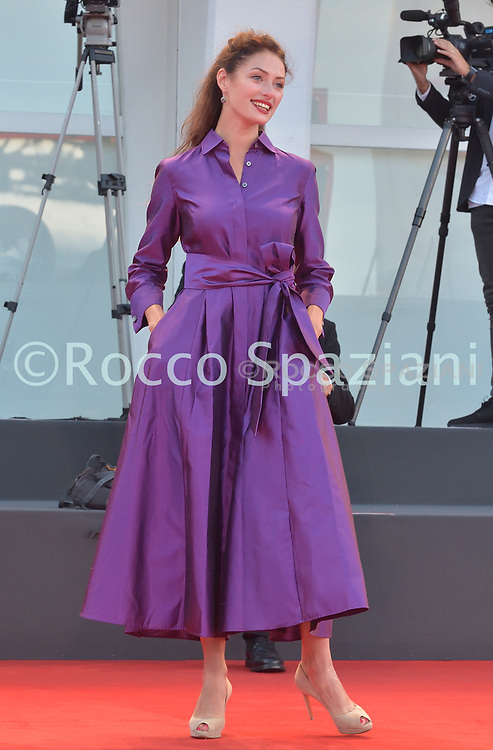 """VENICE, ITALY - SEPTEMBER 07:   Ingrid Margus walks the red carpet ahead of the movie """"Sniegu Juz Nigdy Nie Bedzie"""" (Never Gonna Snow Again) at the 77th Venice Film Festival on September 07, 2020 in Venice, Italy. <br /> (Photo by Rocco Spaziani)"""