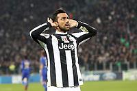 "Esultanza Fabio Quagliarella Juventus<br /> Goal celebration<br /> Torino 20/11/2012 Stadio ""Juventus""<br /> Football Calcio UEFA Champions League 2012/13<br /> Juventus v Chelsea<br /> Foto Insidefoto Paolo Nucci"