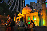 Manhattan, New York | 2007<br /> As part of its Incredible India campaign, India's Ministry of Tourism built a replica of the Taj Mahal in Bryant Park to celebrates India's 60th anniversary of independence.