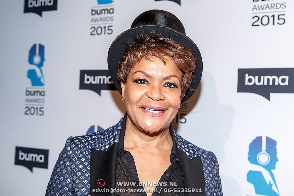 NLD/Hilversum/20150217 - Inloop Buma Awards 2015, Ruth Jacott