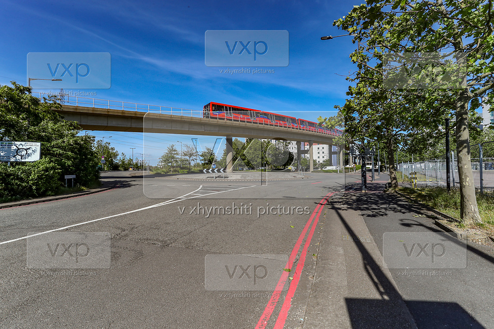"The NHS Nightingale hospital in London is seen deserted on Wednesday, May 20, 2020. It will be kept ""in hibernation"" in case the second wave of Covid-19 infections emerges. (Photo/ Vudi Xhymshiti)"
