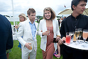 TOM AIKENS; AMBER NUTTALL, Cartier International Polo Day at the Guards Polo Club. Windsor. July 26  2009