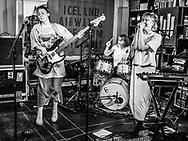 Icelandic punk band Gróa at Iceland Airwaves