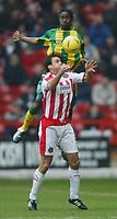 Sheffield United v West Bromwich Albion<br /> 21.02.2004<br /> <br /> WBA'S ALASSANE N'DOUR