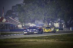 March 16, 2018 - Sebring, USA - 67 FORD CHIP GANASSI RACING (USA) FORD GT FORD GTLM RYAN BRISCOE (AUS) RICHARD WESTBROOK (GBR) SCOTT DIXON  (Credit Image: © Panoramic via ZUMA Press)