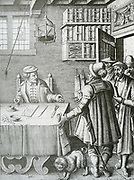 Talk with a lawyer, to try and amicably settle a dispute, to avoid a trial. Legal practice in the Netherlands 17th century