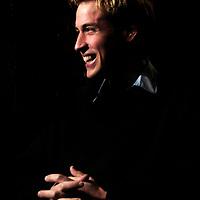 Prince William portrait St Andrews.Photograph David Cheskin.