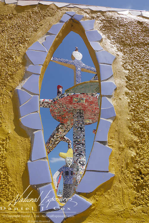"""The tile art at Jose Fuster's house, """"Picasso of the Caribbean"""". Havana, Cuba."""