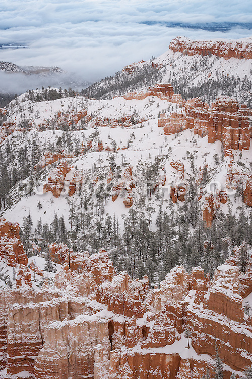 Bryce Canyon National Park During Winter