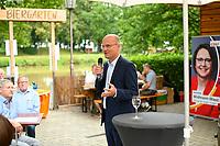 DEU, Deutschland, Germany, Rottenburg, 27.07.2021: Ralph Brinkhaus, Vorsitzender der CDU/CSU-Bundestagsfraktion, beim Wahlkampfauftakt der CDU in Baden-Württemberg im Biergarten beim Haus der Bürgerwache.