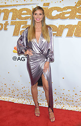 """""""America's Got Talent"""" screening and red carpet held at The Dolby Theatre on September 4, 2018 in Hollywood, CA. © O'Connor/AFF-USA.com. 04 Sep 2018 Pictured: Heidi Klum. Photo credit: O'Connor/AFF-USA.com / MEGA TheMegaAgency.com +1 888 505 6342"""