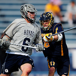 Big East Men's Lacrosse Championship - Semifinal #1 - Marquette vs Georgetown on April 30, 2015 at Villanova Stadium in Villanova, Pennsylvania.