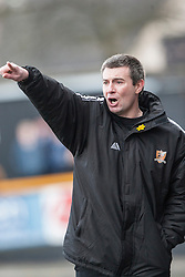 Alloa Athletic's manager Barry Smith.<br /> Alloa Athletic 3 v 0 Falkirk, Scottish Championship game played today at Alloa Athletic's home ground, Recreation Park.<br /> © Michael Schofield.