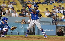 June 21, 2017 - Los Angeles, California, U.S. - New York Mets' Jose Reyes during a Major League baseball game against the Los Angeles Dodgers Mets at Dodger Stadium on Wednesday, June 21, 2017 in Los Angeles. Los Angeles. (Photo by Keith Birmingham, Pasadena Star-News/SCNG) (Credit Image: © San Gabriel Valley Tribune via ZUMA Wire)