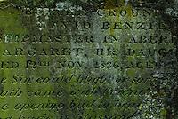 Grave in Aberdeen, Scotland Cemetery, 19th Century