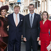 NLD/Den Haag/201411015 - Staatsbezoek Spaanse Koninklijke familie aan Nederland, Koning Felipe en Koningin Letizia, <br /> <br /> Statevisit of the Spanish Royal Family to the Netherlands, King Felipe and Queen Letizia