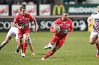 Bryan Habana - 28.12.2014 - Stade Francais / Racing Club Toulon - 14eme journee de Top 14<br />Photo : Aurelien Meunier / Icon Sport