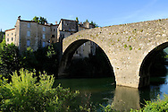 France, Languedoc Roussillon, Gard (30), Cevennes, Le Vigan, le Vieux Pont