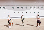 Royal Caribbean, Harmony of the Seas, Photo souvenir gettng of the boat