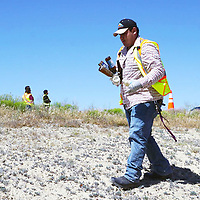 Navajo Transitional Energy Company and North American Coal Bisti Fuels teamed up to clean a portion of Navajo Route 36 from U.S. Highway 491 to San Juan Chapter during the week of June 20.