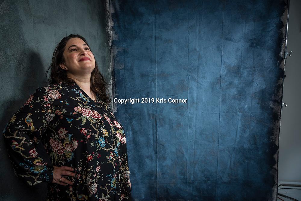 Samantha Peller, January 24, 2019, New York City. Photo by Kris Connor