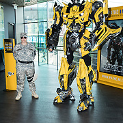 NLD/Amsterdam//20170621 - Premiere Transformers 3D: The Last Knight, Bumblebee (Transformers)