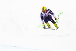 February 9, 2019 - Re, SWEDEN - 190209 Marko Vukicevic of Serbia competes in the downhill during the FIS Alpine World Ski Championships on February 9, 2019 in re  (Credit Image: © Daniel Stiller/Bildbyran via ZUMA Press)