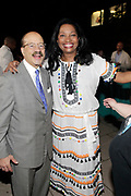 May 14, 2014- Harlem, New York-United States: (L-R) Attorney Charles J. Hamilton, Jr. Chairman of the Board, HSA and Janice Savin Williams Vice Chair, HSA Board of Directors attend the Harlem School of the Arts Jump and Wave Benefit held at the Harlem School of the Arts- The Herb Alpert Center on May 18, 2017 in Harlem, New York City. Harlem School of the Arts enriches the lives of young people and their families through world-class training in and exposure to the arts across multiple disciplines in an environment that emphasizes rigorous training, stimulates creativity, builds self-confidence, and adds a dimension of beauty to their lives.(Photo by Terrence Jennings/terrencejennings.com)