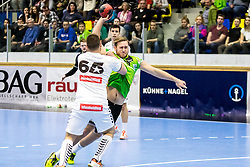 18.03.2018, BSFZ Suedstadt, Maria Enzersdorf, AUT, HLA, SG INSIGNIS Handball WESTWIEN vs HC FIVERS WAT Margareten, Bonus-Runde, 6. Runde, im Bild Philipp Rabenseifer (SG INSIGNIS Handball WESTWIEN) // during Handball League Austria, Bonus-Runde, 6 th round match between SG INSIGNIS Handball WESTWIEN and HC FIVERS WAT Margareten at the BSFZ Suedstadt, Maria Enzersdorf, Austria on 2018/03/18, EXPA Pictures © 2018, PhotoCredit: EXPA/ Sebastian Pucher