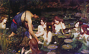 Hylas and the Nymphs, John William Waterhouse, 1896