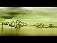 A modern bridge across water