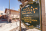 Yucca Mountain Project in Goldfield, Nevada, USA
