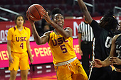 NCAA Women's Basketball-Long Beach State at Southern California-Dec 23, 2020