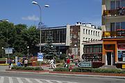 Giżycko, 2006-05-06. Centrum miasta