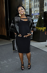 April 4, 2013 - New York City, NY, USA - Phaedra Parks leaves a Soho hotel on April 3 2013 in New York City  (Credit Image: © Curtis Means/Ace Pictures/ZUMAPRESS.com)