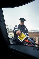 Traffic warden, London Borough of Camden, UK