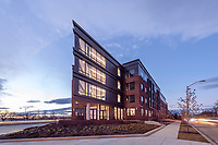 Exterior photo of Metro Heights Apartments in Baltimore Maryland by Jeffrey Sauers of Commercial Photographics.