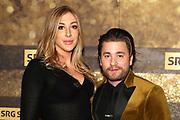 Sänger Baschi mit Freundin Alana Netzer anlässlich der Verleihung der Sports Awards 2019