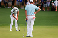 Danny Willett (ENG) on the 2nd during the 1st round at the The Masters , Augusta National, Augusta, Georgia, USA. 11/04/2019.<br /> Picture Fran Caffrey / Golffile.ie<br /> <br /> All photo usage must carry mandatory copyright credit (© Golffile | Fran Caffrey)