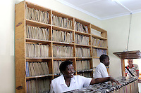 Filling system at Chaisa Clinic in Lusaka, Zambia