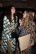NAT RUBINSTEIN,, CHARLOTTE BEARM,  `preview evening  in support of The Eve Appeal, a charity dedicated to protecting women from gynaecological cancers. Bonhams Knightsbridge, Montpelier St. London. 29 April 2019