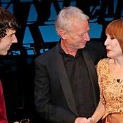NLD/Den Haag/20111201- Premiere Ramses, William Spaaij en Liesbeth List