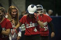 NHIAA Division II semi final softball Coe Brown versus Goffstown at SNHU.  Karen Bobotas/for the Concord Monitor