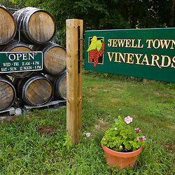 Jewell Towne Vineyards in South Hampton, New Hampshire.