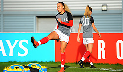 Ebony Salmon of Bristol City warms up- Mandatory by-line: Nizaam Jones/JMP - 27/10/2019 - FOOTBALL - Stoke Gifford Stadium - Bristol, England - Bristol City Women v Tottenham Hotspur Women - Barclays FA Women's Super League