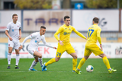 Arnel Jakupovic of Domzale and Anis Jasargic of Triglav during football match between NK Domzale and NK Triglav in Round #18 of Prva liga Telekom Slovenije 2019/20, on November 23, 2019 in Sports park Domzale, Slovenia. Photo by Sinisa Kanizaj / Sportida