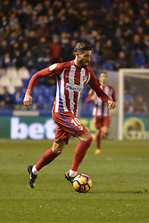 March 2, 2017 - La Coruna, Spain - Carrasco. La Liga Santander Matchday 25. Riazor Stadium, La Coruna, Spain. March 02, 2017. (Credit Image: © Monica Arcay Carro/VW Pics via ZUMA Wire/ZUMAPRESS.com)